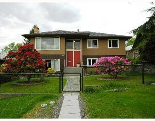 Photo 1: 4811 PANDORA Street in Burnaby: Capitol Hill BN House for sale (Burnaby North)  : MLS®# V709415
