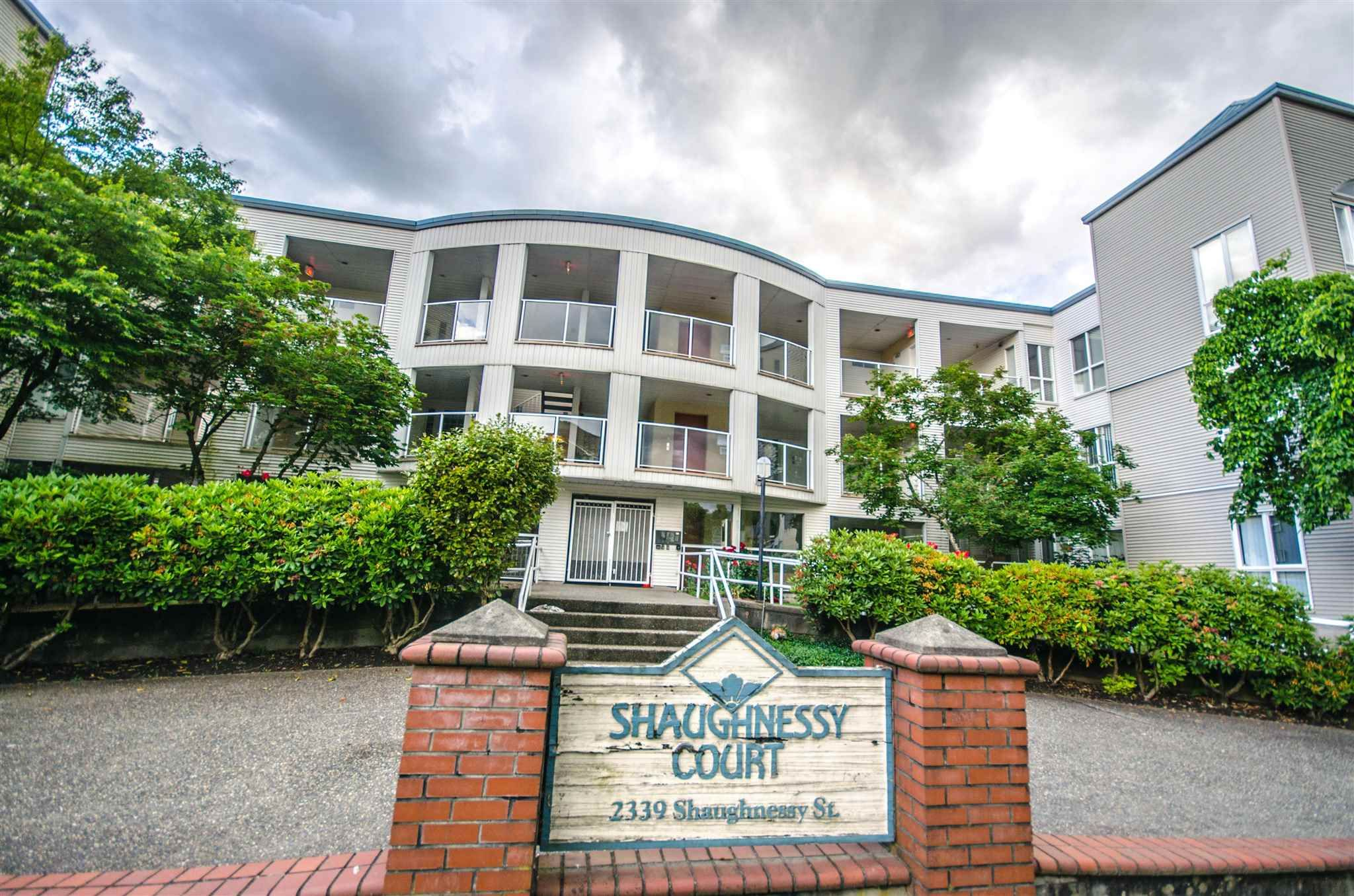 """Main Photo: 308 2339 SHAUGHNESSY Street in Port Coquitlam: Central Pt Coquitlam Condo for sale in """"SHAUGHNESSY COURT"""" : MLS®# R2599685"""