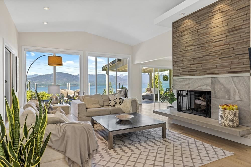 First thing that hits you when you walk into this completely remodeled and upgraded contemporary home is the view.