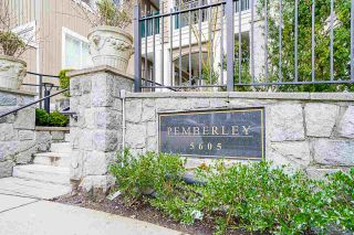 "Photo 2: 107 5605 HAMPTON Place in Vancouver: University VW Condo for sale in ""The Pemberley"" (Vancouver West)  : MLS®# R2555239"