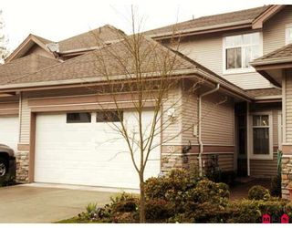"""Main Photo: 50 11860 RIVER Road in Surrey: Royal Heights Townhouse for sale in """"Cypress Ridge"""" (North Surrey)  : MLS®# F2808841"""