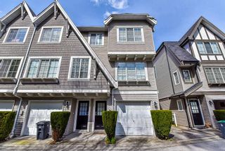 """Photo 1: 44 12778 66 Avenue in Surrey: West Newton Townhouse for sale in """"Hathaway Village"""" : MLS®# R2153687"""