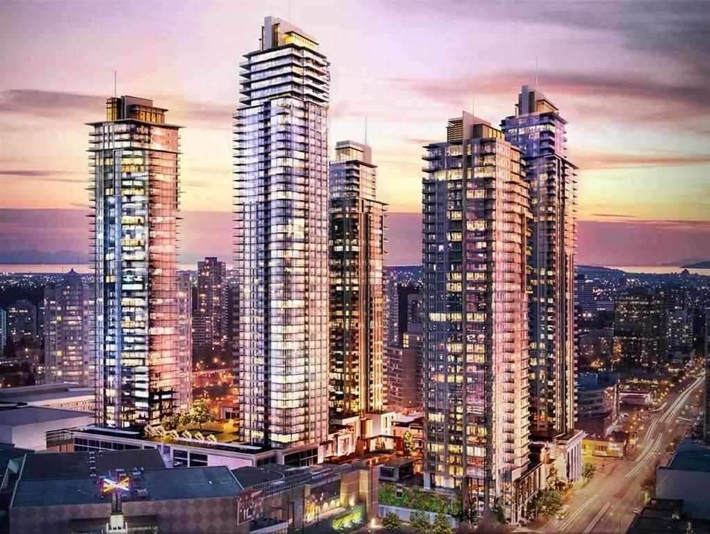 "Main Photo: 1107 4688 KINGSWAY in Burnaby: Metrotown Condo for sale in ""STATION SQUARE"" (Burnaby South)  : MLS®# R2105986"