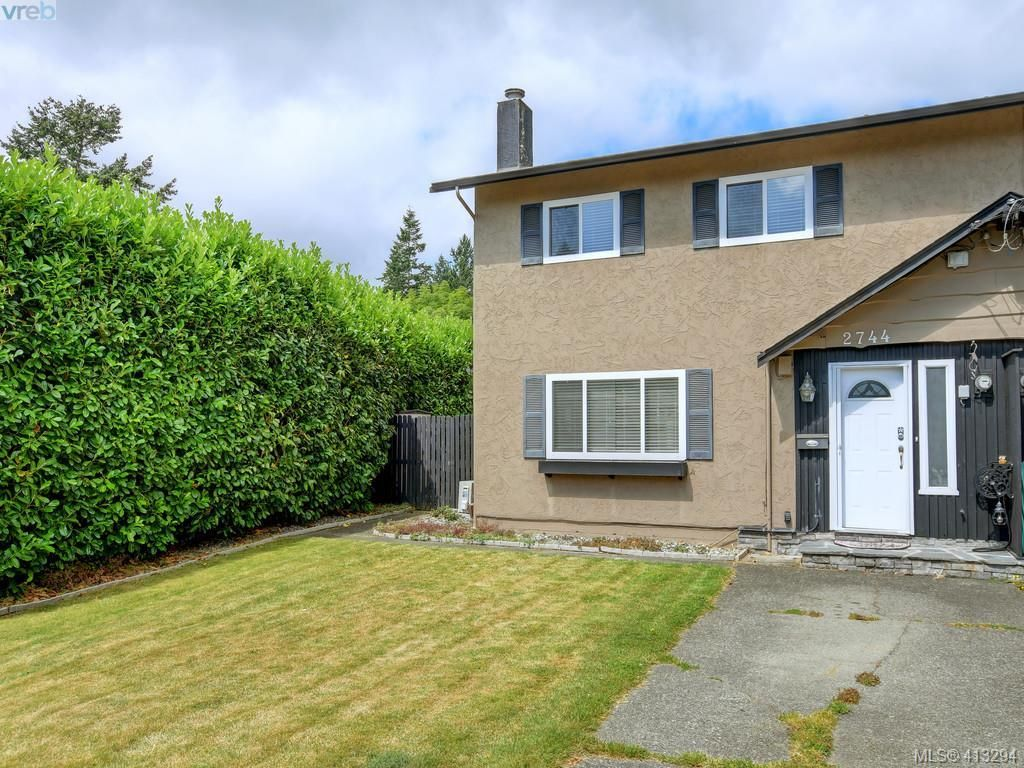Main Photo: 2744 Whitehead Pl in VICTORIA: Co Colwood Corners Half Duplex for sale (Colwood)  : MLS®# 819559