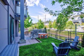 """Photo 2: 108 3289 RIVERWALK Avenue in Vancouver: South Marine Condo for sale in """"R&R"""" (Vancouver East)  : MLS®# R2578350"""