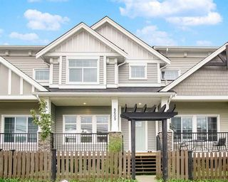"Photo 1: 8609 CEDAR Street in Mission: Mission BC Condo for sale in ""Cedar Valley Rowhomes"" : MLS®# R2502855"