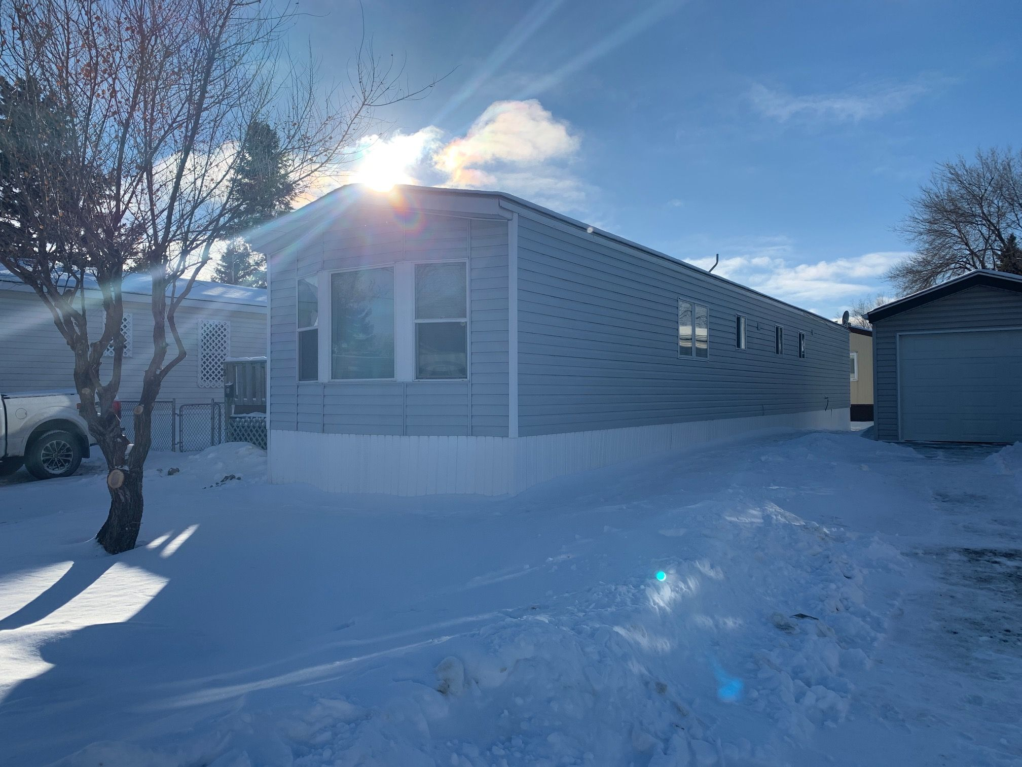 Main Photo: 8 Spine Drive in Winnipeg: St Vital Mobile Home for sale (2F)