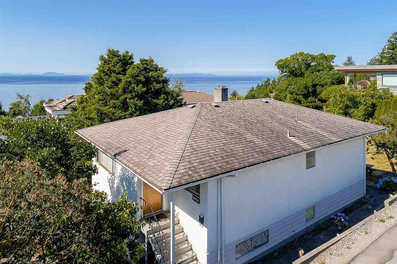 Main Photo: 1385 KERFOOT ROAD in : White Rock House for sale : MLS®# R2214949
