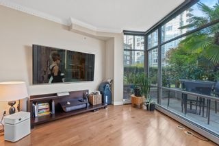 """Photo 11: TH117 1288 MARINASIDE Crescent in Vancouver: Yaletown Townhouse for sale in """"Crestmark I"""" (Vancouver West)  : MLS®# R2625173"""