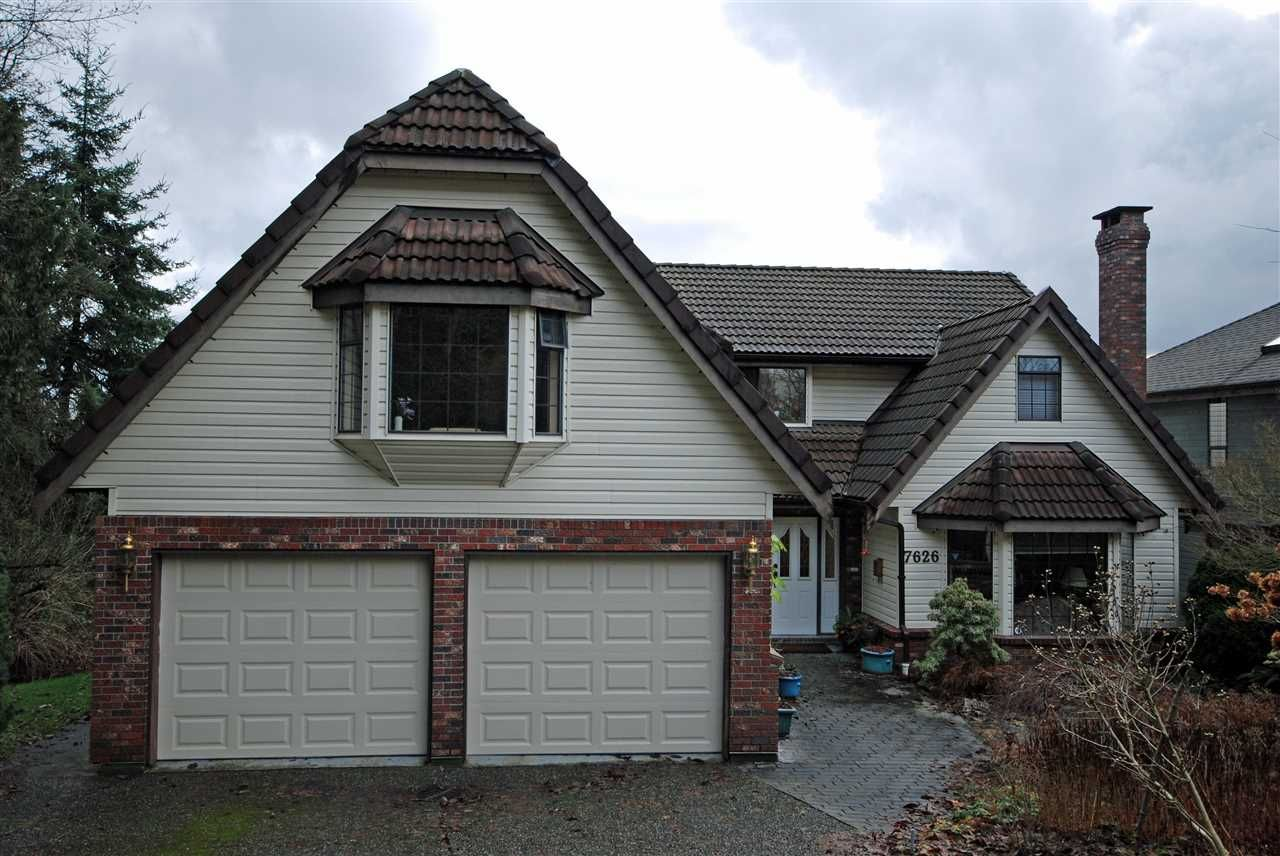 Main Photo: 7626 ARVIN Court in Burnaby: Simon Fraser Univer. House for sale (Burnaby North)  : MLS®# R2027897