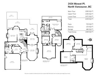 Photo 37: 2434 MOWAT Place in North Vancouver: Blueridge NV House for sale : MLS®# R2555579