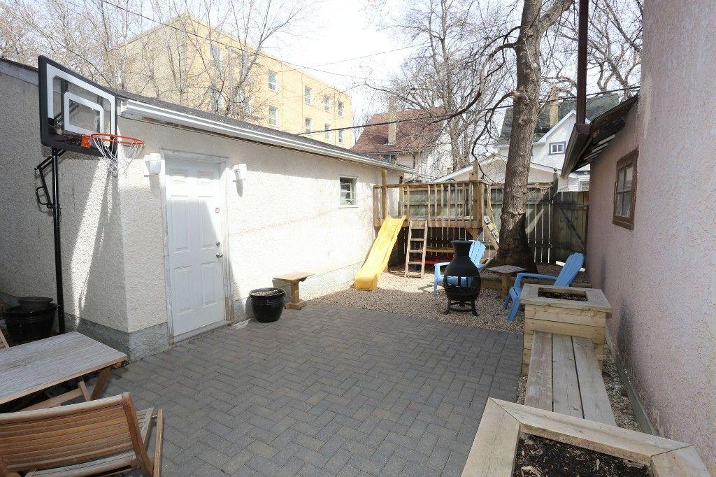 Photo 28: Photos: 205 Lenore Street in Winnipeg: Wolseley Single Family Detached for sale (5B)  : MLS®# 1710671