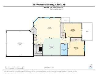 Photo 33: 38 1008 Woodside Way NW: Airdrie Row/Townhouse for sale : MLS®# A1123458