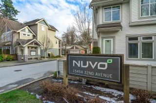 """Photo 1: 41 15454 32 Avenue in Surrey: Grandview Surrey Townhouse for sale in """"Nuvo"""" (South Surrey White Rock)  : MLS®# R2540760"""