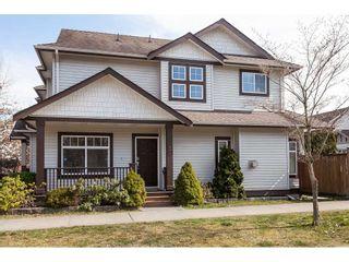 """Photo 1: 5896 148A Street in Surrey: Sullivan Station 1/2 Duplex for sale in """"Miller's Lane"""" : MLS®# R2351123"""