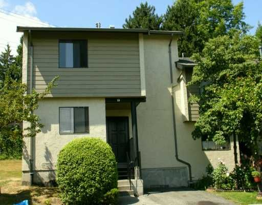 """Main Photo: 19 2880 DACRE AV in Coquitlam: Ranch Park Townhouse for sale in """"PARKWOOD"""" : MLS®# V604264"""