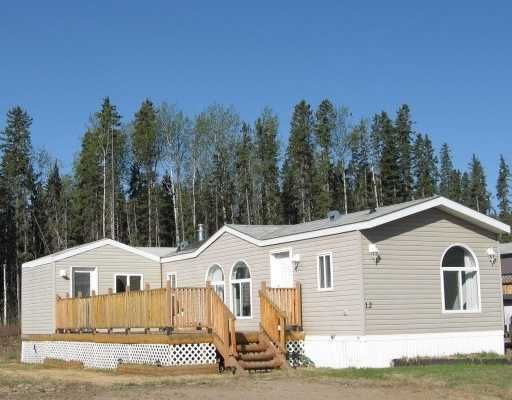 """Main Photo: 12 5700 AIRPORT Road in Fort_Nelson: Fort Nelson -Town Manufactured Home for sale in """"SOUTHRIDGE PARK"""" (Fort Nelson (Zone 64))  : MLS®# N182502"""