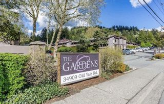 "Photo 1: 1616 34909 OLD YALE Road in Abbotsford: Abbotsford East Townhouse for sale in ""THE GARDENS"" : MLS®# R2364265"