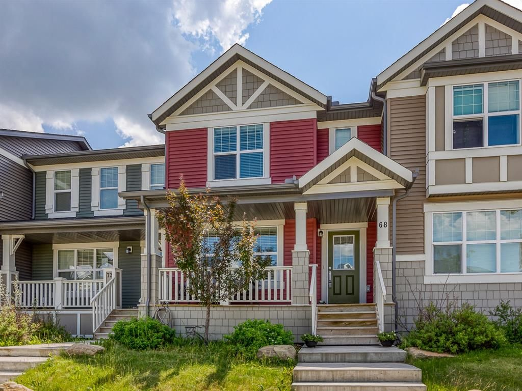 Main Photo: 68 Sunvalley Road: Cochrane Row/Townhouse for sale : MLS®# A1126120