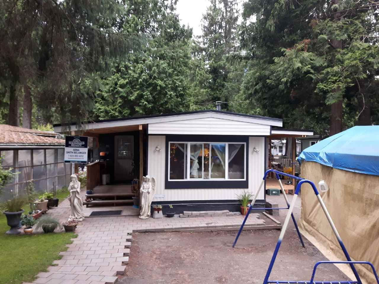 """Main Photo: 231 1830 MAMQUAM Road in Squamish: Garibaldi Estates Manufactured Home for sale in """"Timber Town Estates"""" : MLS®# R2236016"""