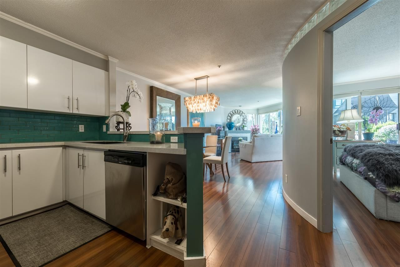 Main Photo: 208 1208 BIDWELL STREET in : West End VW Condo for sale : MLS®# R2285865