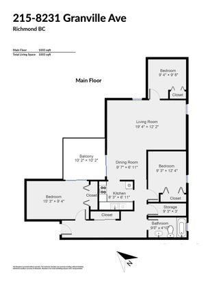 """Photo 17: 215 8231 GRANVILLE Avenue in Richmond: Brighouse Condo for sale in """"DOLPHIN PLACE"""" : MLS®# R2430410"""
