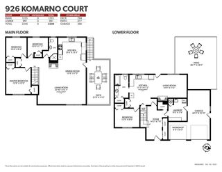 Photo 40: 926 KOMARNO Court in Coquitlam: Chineside House for sale : MLS®# R2584778