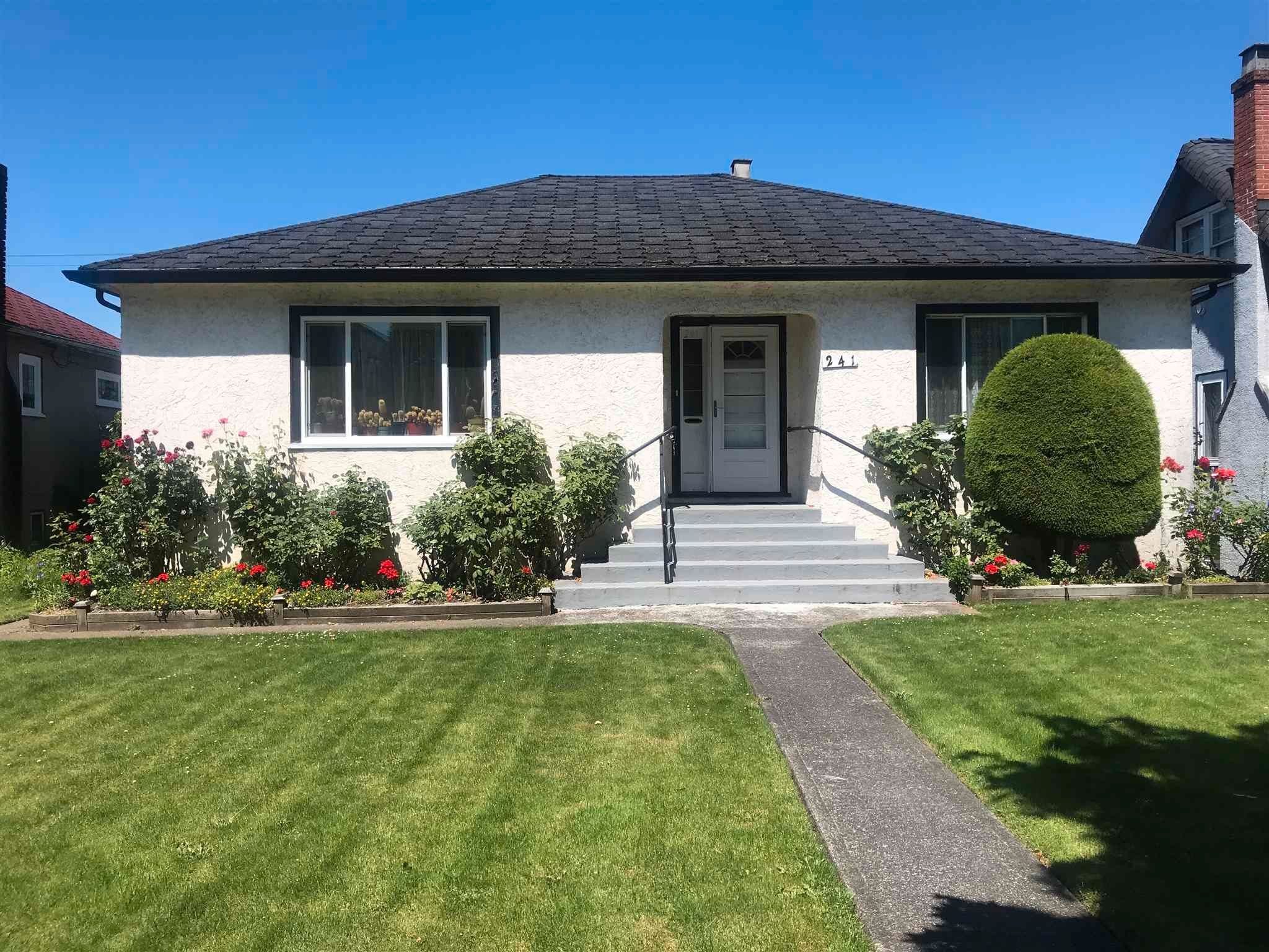 Main Photo: 241 W KING EDWARD Avenue in Vancouver: Cambie House for sale (Vancouver West)  : MLS®# R2595115