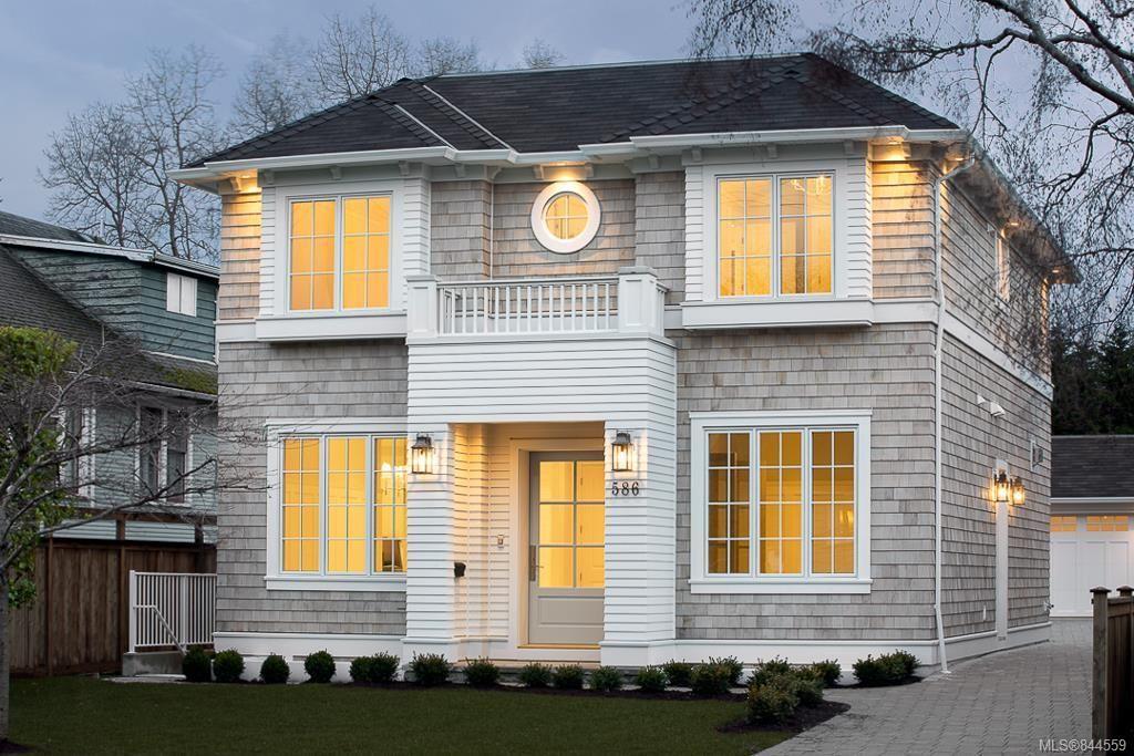 Main Photo: 586 Oliver St in Oak Bay: OB South Oak Bay House for sale : MLS®# 844559