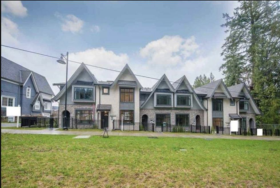 Main Photo: 4 3406 ROXTON Avenue in Coquitlam: Burke Mountain Townhouse for sale : MLS®# R2549017