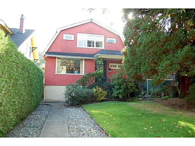 """Main Photo: 956 W 21ST Avenue in Vancouver: Cambie House for sale in """"CAMBIE VILLAGE"""" (Vancouver West)  : MLS®# V1033057"""