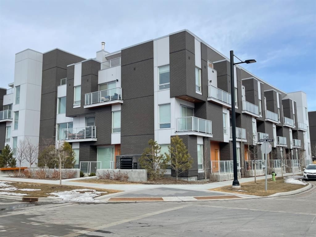 Main Photo: 310 3130 Thirsk Street NW in Calgary: University District Apartment for sale : MLS®# A1076125