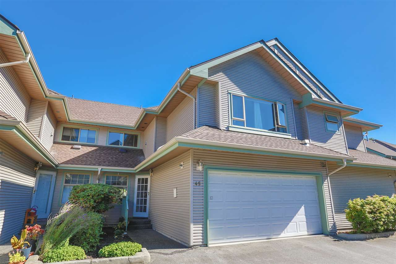 """Main Photo: 45 1255 RIVERSIDE Drive in Port Coquitlam: Riverwood Townhouse for sale in """"RIVERWOOD GREEN"""" : MLS®# R2004317"""