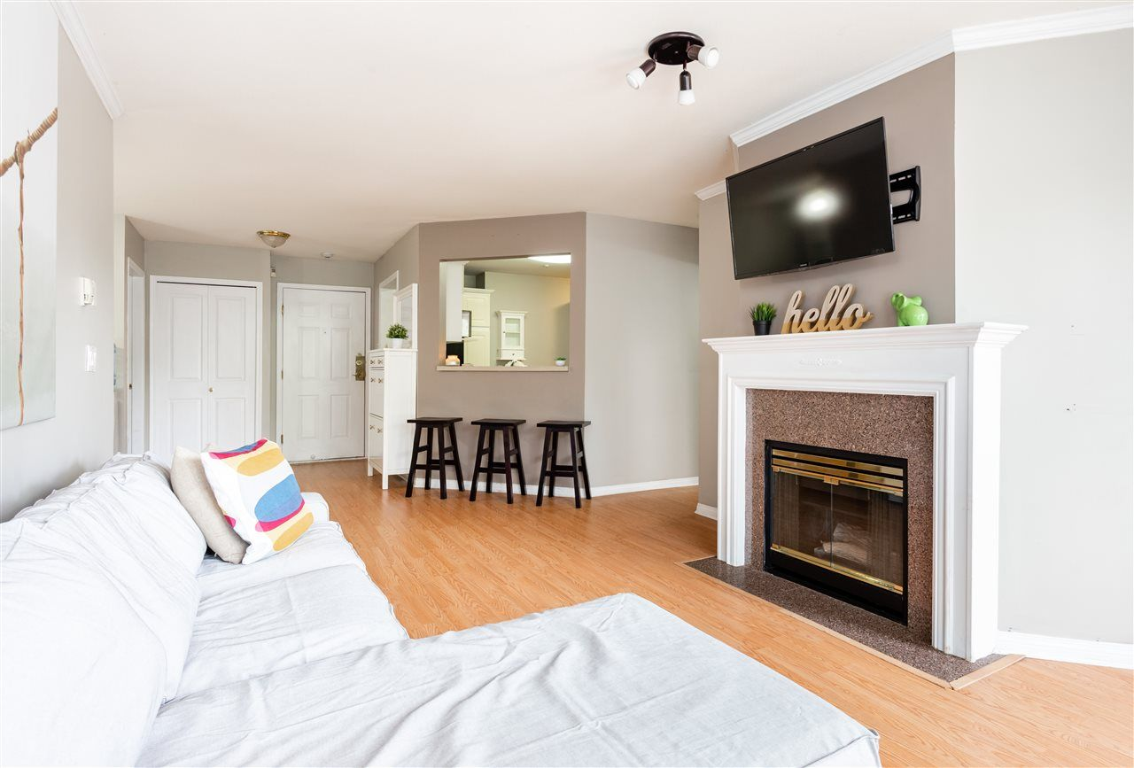 """Main Photo: #201 - 7435 121A St, in Surrey: West Newton Condo for sale in """"Strawberry Hills"""" : MLS®# R2406306"""