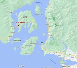 """Photo 1: DL 477 GAMBIER ISLAND: Gambier Island Land for sale in """"Cotton Bay"""" (Sunshine Coast)  : MLS®# R2616772"""