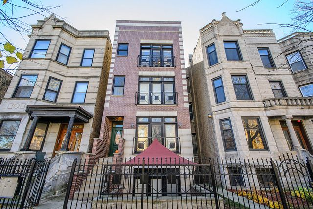 Main Photo: 2851 Shakespeare Avenue Unit 3 in CHICAGO: CHI - Logan Square Condo, Co-op, Townhome for sale ()  : MLS®# MRD09090303