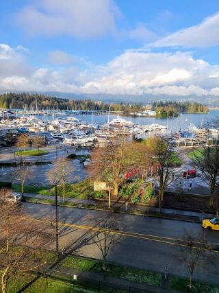 """Photo 2: 603 555 JERVIS Street in Vancouver: Coal Harbour Condo for sale in """"HARBOUR SIDE TOWER"""" (Vancouver West)  : MLS®# R2536707"""