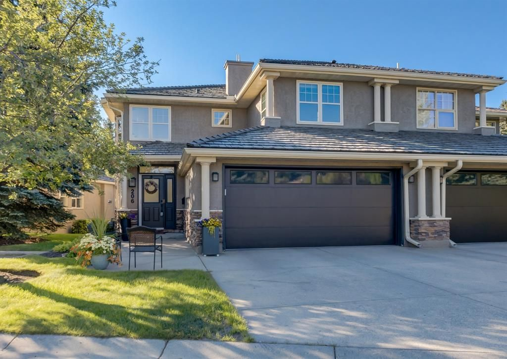 Main Photo: 206 Paliswood Park SW in Calgary: Palliser Semi Detached for sale : MLS®# A1138623