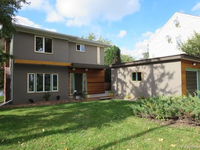Welcome to 444 Bredin Drive. Extreme Makeover!  Exterior features Hardy Board Siding and Cedar. 1485sq.ft. 3 Bedrooms, 2 1/2 Bathrooms, Finished Walkout Basement on the River!