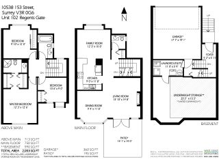"""Photo 18: 102 10538 153 Street in Surrey: Guildford Townhouse for sale in """"Regents Gate"""" (North Surrey)  : MLS®# R2119812"""