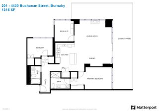 """Photo 38: 201 4400 BUCHANAN Street in Burnaby: Brentwood Park Condo for sale in """"MOTIF & CITI"""" (Burnaby North)  : MLS®# R2596915"""