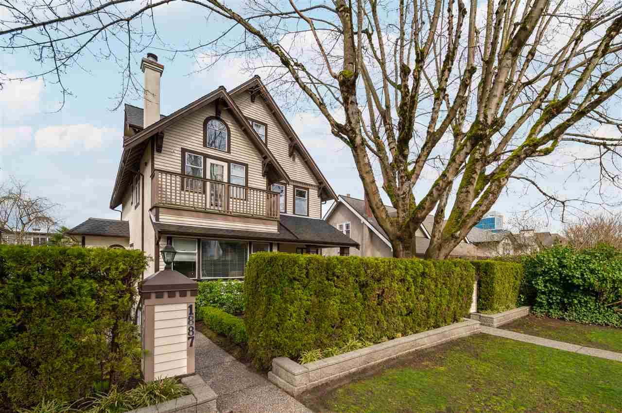 Main Photo: 1881 W 10TH Avenue in Vancouver: Kitsilano Townhouse for sale (Vancouver West)  : MLS®# R2555896