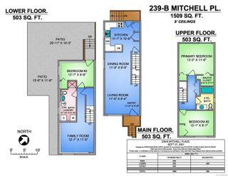 Photo 10: 239B Mitchell Pl in : CV Courtenay City Half Duplex for sale (Comox Valley)  : MLS®# 886784