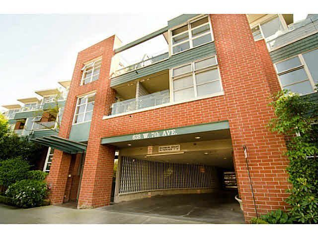 Main Photo: #216 - 638 W. 7th Ave, in Vancouver: Fairview VW Condo for sale (Vancouver West)  : MLS®# V1029431