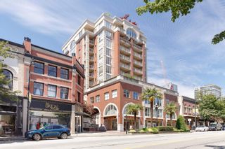 """Photo 1: 407 680 CLARKSON Street in New Westminster: Downtown NW Condo for sale in """"THE CLARKSON"""" : MLS®# R2595710"""
