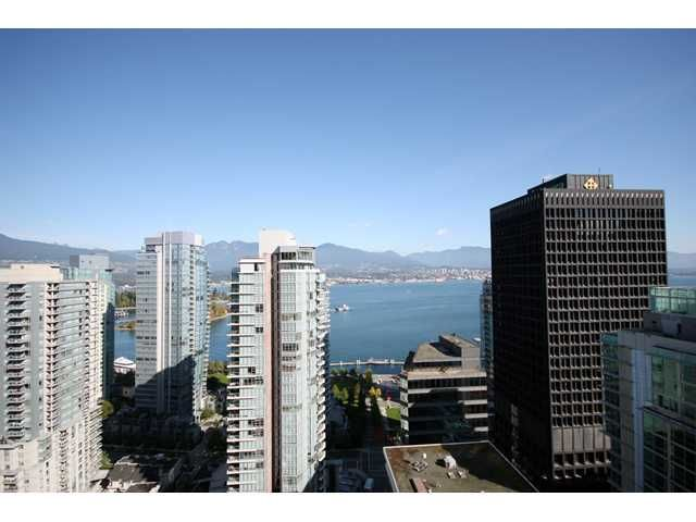 Main Photo: # 2801 1188 W PENDER ST in Vancouver: Coal Harbour Condo for sale ()  : MLS®# V858468