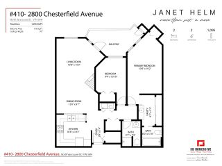 "Photo 28: 410 2800 CHESTERFIELD Avenue in North Vancouver: Upper Lonsdale Condo for sale in ""Somerset Green"" : MLS®# R2574696"