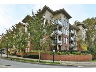 "Photo 1: 112 101 MORRISSEY Road in Port Moody: Port Moody Centre Condo for sale in ""LIBRA AT SUTER BROOK VILALGE"" : MLS®# R2010522"