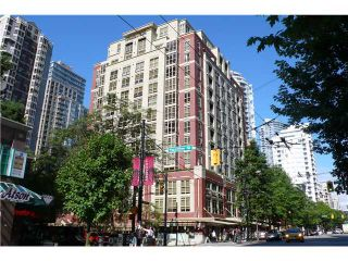 Photo 1: # 305 819 HAMILTON ST in Vancouver: Downtown VW Condo for sale (Vancouver West)  : MLS®# V916177
