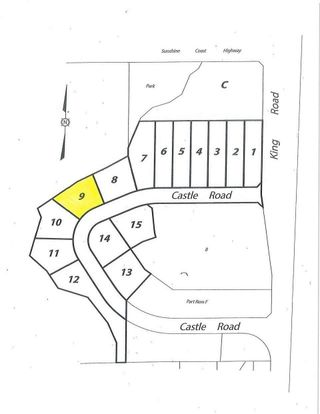 "Main Photo: LOT 9 CASTLE Road in Gibsons: Gibsons & Area Land for sale in ""KING & CASTLE"" (Sunshine Coast)  : MLS®# R2422418"